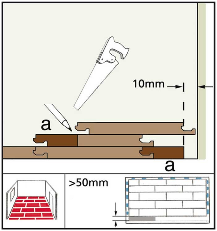 installation instructions for herringbone flooring